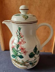 Villeroy & Boch - Botanica gr. Kaffeekanne Menyanthes trifoliata Vitro-Porcelain