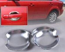 New Chrome Door Handle Cup Bowl Fit For Mazda 6 2003 2004-2008 Mazda 3 2004-2009