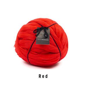 1kg Red Mammoth® Giant Chunky Knit Extreme Arm Knitting Big Stitch Blanket Yarn