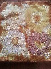 Vintage 70s Towel SET 3 Piece Cannon Monticello Retro Fringe