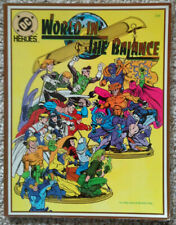 World In The Balance - DC Heroes Role Playing Game - Mayfair Games