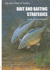MAYLIN ROB COARSE FISHING BOOK BAIT AND BAITING STRATEGIES CARP hardback NEW