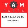 6D0-44362-00-00 Yamaha Tube, water 2 6D0443620000, New Genuine OEM Part
