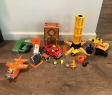 Handy Manny Construction Set Playset Pre-Owned plus drill