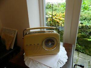 Modern Retro style Bush TR82 DAB  MW/LW/FM and Digital Radio