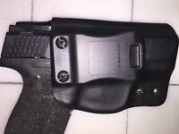 IWB Holster for S&W M&P Shield 9 or 40 - Adjustable Retention