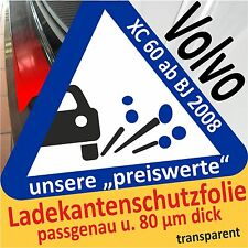 Volvo XC60 Ladekantenschutz Folie Lackschutzfolie Autofolie Schutzfolie t80