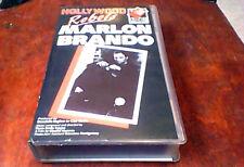 MARLON BRANDO Hollywood Rebels UK PAL VHS Video Glenn Ford Jane Fonda No DVD