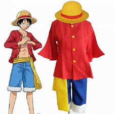 ONE PIECE 2nd generation Monkey D Luffy ONE Cosplay Costume After 2 years Size S