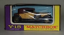 Matchbox Models Of Yesteryear Y-15-2-1 - 1930 Packard Victoria