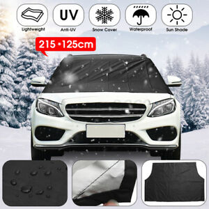 215x125cm Car Windscreen Cover Magnetic Auto Windshield Cover Protect From Ice