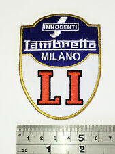 Innocenti Lambretta Milano LI Patch - Embroidered - Iron or Sew On