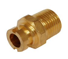 """STRAIGHT BAYONET MICROPOINT 3/8"""" GAS - FOR COOKER HOSE / FLEX"""