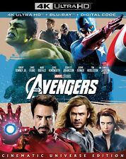 The Avengers 4K UHD + BLU-RAY (Used) Robert Downey, Jr. Chris Evans Mark Ruffalo