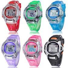 Fashion Multifunction Electronic Sport Digital Wrist Watch For Children Boy Girl