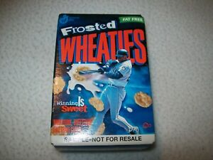 Ken Griffey Jr. Honey Frosted Wheaties mini (single serve) Full unopened Box!