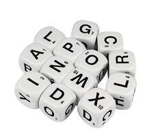 Dice Alphabet 6 Face Uppercase 16mm (13 pieces) Literacy Teacher Resource Kids