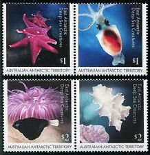 Deep Sea Creatures 2 se-tenant prs of stamps mnh 2016 Australian Antarctic Terr.