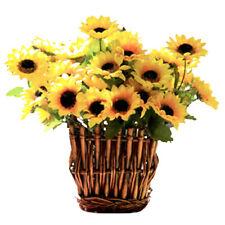 Artificial Sunflower Plant Cafe House Decoration Photography Floral Decor Prop