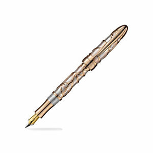 Laban 300 Series Fountain Pen - Rose Gold - Fine Point - NEW in Box RN-F300PG-F