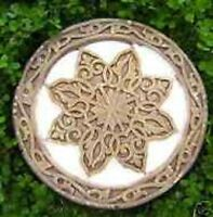 Plaster,concrete mold decor star celtic  tile abs plastic mould