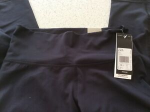 Adidas women's high rise 3/4 Black  tights Size S 8-10 New+tags