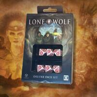 Cubicle7 Lone Wolf Lone Wolf Adventure Game Deluxe Dice Set (6) New