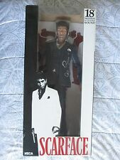"AL PACINO SIGNED NECA SCARFACE TONY MONTANA TALKING FIGURE 18"" DC/COA SUPER RARE"