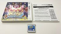 Kirby Planet Robobot  (Nintendo 3DS) Complete w/Insert Tested&Works FREE SHIP