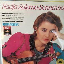 NADJA SALERNO-Sonnenberg SEALED Lp Record New York Chamber Orch Gerard Schwarz