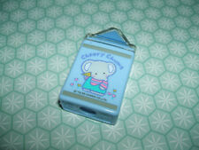 Rare Vintage 1985 Sanrio Cheery Chums Blue Cased eraser rubber gomme gommine