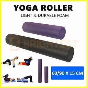 Yoga Roller Physio Pilates Foam Roller Gym Back Training Exercise Massage 60/90