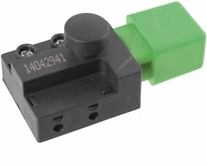 On & Off Power Button Switch for Flymo Lawnmowers