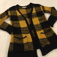 Love By Design Cardigan Sweater Women's Size XS Hipster Open Front