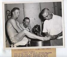 Original 1955 Don Zimmer Brooklyn Dodgers Wire Photo