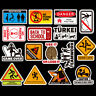 50Pcs Cartoon Graffiti Warning Stickers Skateboard Laptop Car Luggage Art Decal