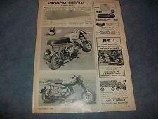 "1965 Custom Honda 50cc Mini-Bike Vintage Article ""Vroom Special"" Tohatsu"