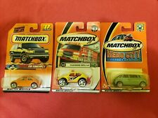Matchbox Volkswagen Baha Beetle Concept 1 Microbus #17 #45 #72 VW 1/64 Lot of 3