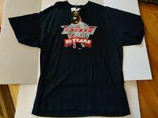 PBR Professional Bull Riders black XL t shirt 20 yrs New With Tags