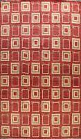 Hand-knotted Gabbeh Kashkoli Geometric Oriental Area Rug Modern Wool Carpet 9x12
