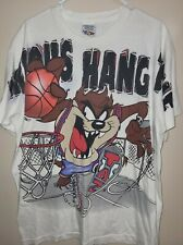 Vintage 90s Taz Basketball T Shirt Made In USA