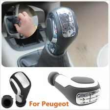 New 5Speed Gear Shift Knob Lever Manual For Peugeot 106 206 206CC 207 307 407