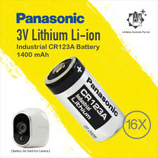 4 Set Panasonic CR123A Battery 4 Netgear Arlo Security Camera Vms3330 3430 3230