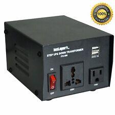 Instapark Itu-500 Series Heavy-Duty Ac 110/220V Step Up/Down Voltage Transformer