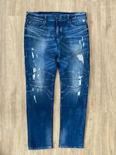 True Religion Herren Jeans Men GENO Biker Relaxed Slim Größe W36 NP 269.00€