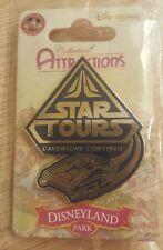 PIN Disneyland Paris ATTRACTION STAR TOURS OE NEW