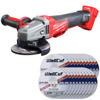Milwaukee M18CAG115XPDB 18v Angle Grinder With 1.6mm Metal Cut Disc Pack of 20