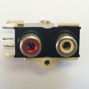 RCA connector 2-WAY red white  - RetroAudio