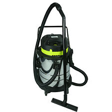 WET AND DRY VACUUM VAC CLEANER INDUSTRIAL 50LTR 1400W STAINLESS STEEL