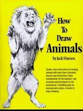 HOW TO DRAW ANIMALS (PERIGEE) BOOK BY HAMM, JACK BRAND NEW